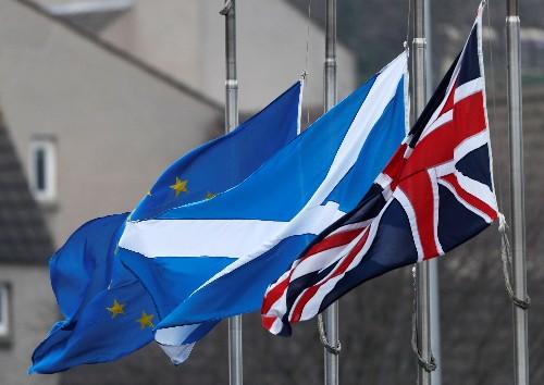 UK risks Scotland split, more austerity after a no-deal Brexit: Hammond