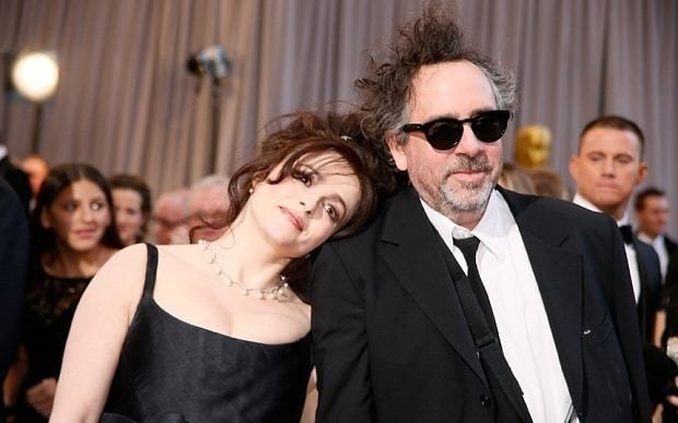 Helena Bonham Carter and Tim Burton: eccentricty and domesticity don't mix