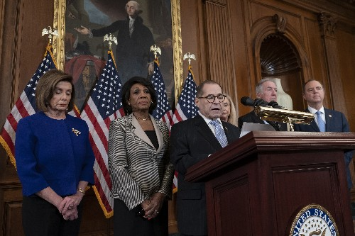 Democrats' impeachment charges say Trump 'betrayed' US