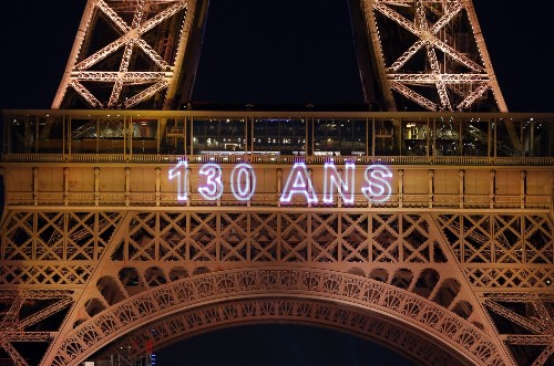 The 130th Anniversary of the Eiffel Tower in Pictures