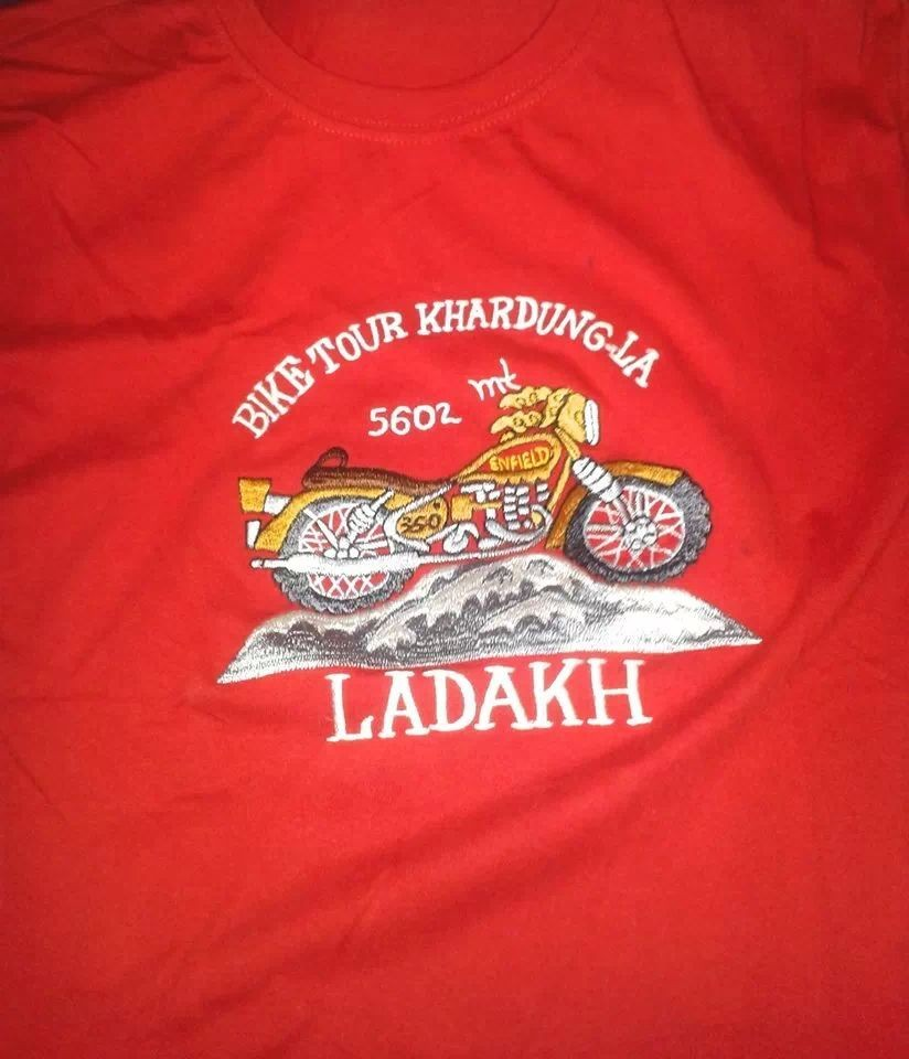 That my #T-#shirts says. L A D A K H ......