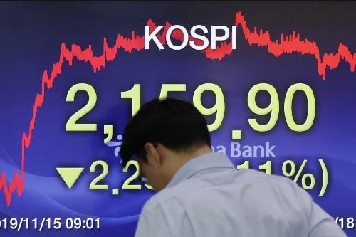 Global shares mixed amid cautious mood, eyes on trade talks