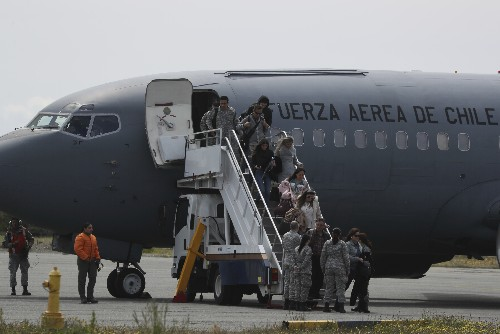 Chile: Debris believed from missing plane carrying 38 found