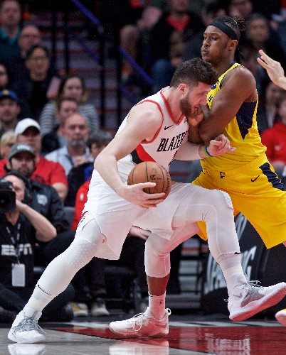 Pacers fall at Portland for 10th straight time