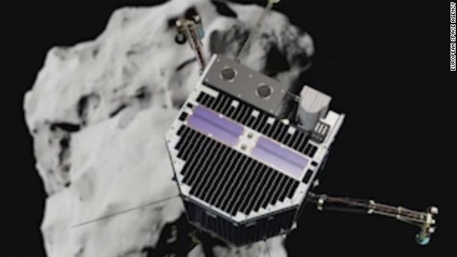 We landed twice: Philae comet probe may have bounced after harpoon failure