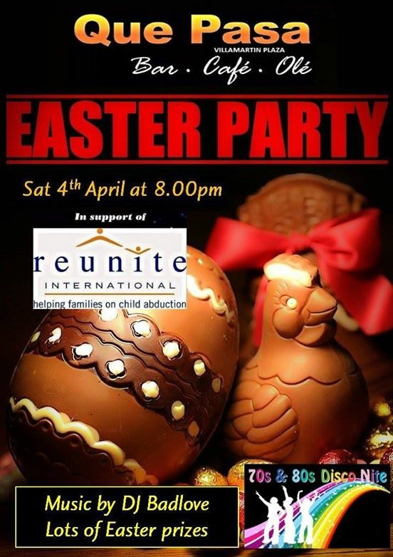 Easter party at Que Pasa