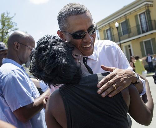 President Obama Visits Treme in New Orleans