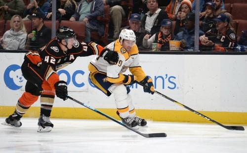 Rakell's shootout winner leads Ducks past Preds