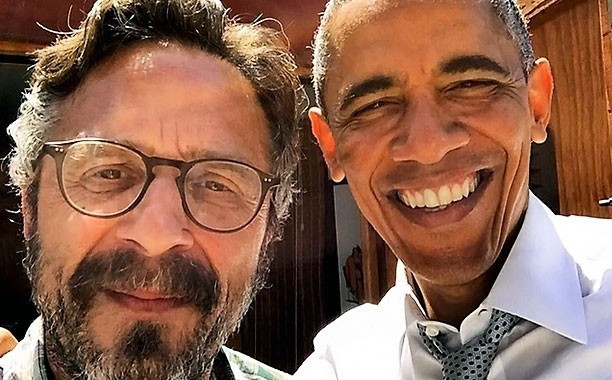 Marc Maron explains what it's really like to interview Barack Obama