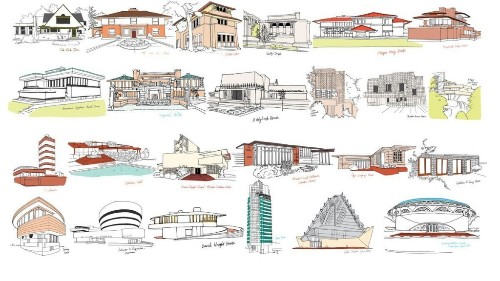 An illustrated guide to Frank Lloyd Wright