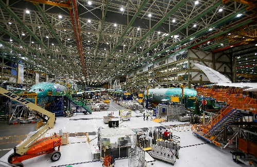 Boeing says depressurization issue led to suspension of 777X load testing