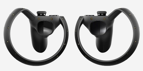 "Oculus Previews ""Oculus Touch"" Handheld Motion-Tracking Haptic Controllers"