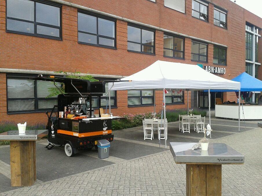 ABN Amro in Almere, haringparty.