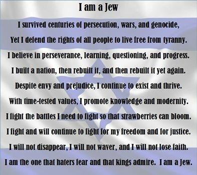 I AM a jew...