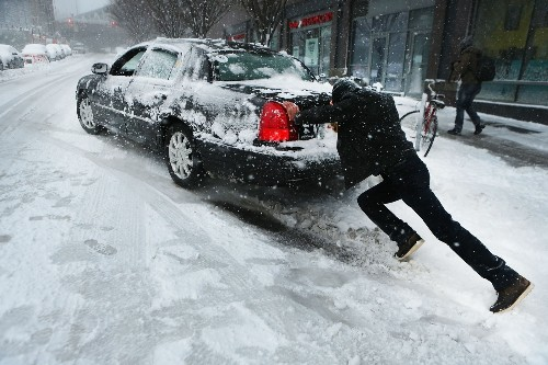 Snowstorm Slams into the Northeast: Pictures