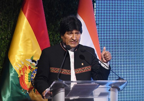 Bolivia's Morales defies term limits, launches bid for fourth term