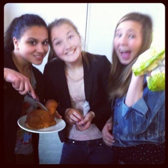 Easter cake with Selva en Suze