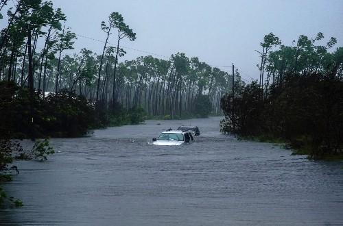 Hurricane Dorian Wreaking Havoc: Pictures