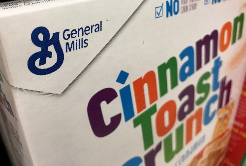 General Mills quarterly sales hit by lower snacks demand, shares fall