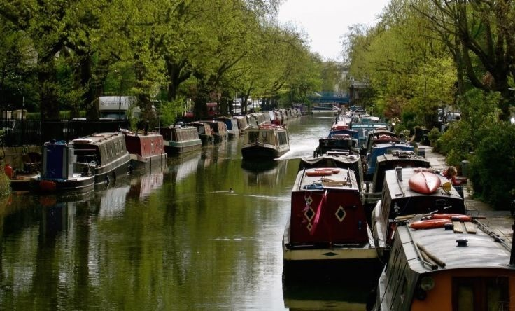 London house price crisis sending young professionals to live on canals
