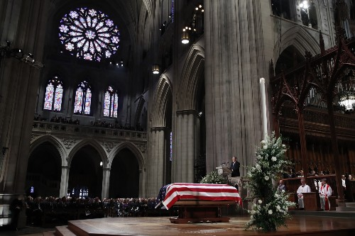 State Funeral for President George H.W. Bush in Pictures