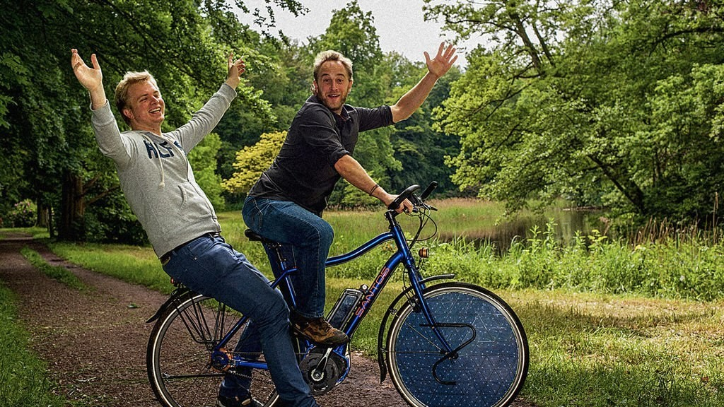 This Solar-Powered Electric Bike May Be Even Greener Than A Regular Bicycle