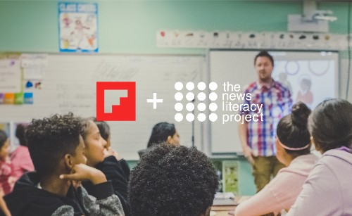 Flipboard Donates Company Stock to The News Literacy Project