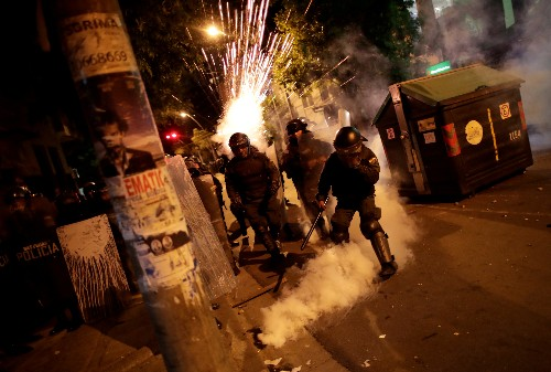 Season of discontent: protests flare around the world