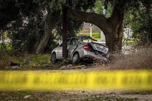 California police: Driver rammed into car, killing 3 teens