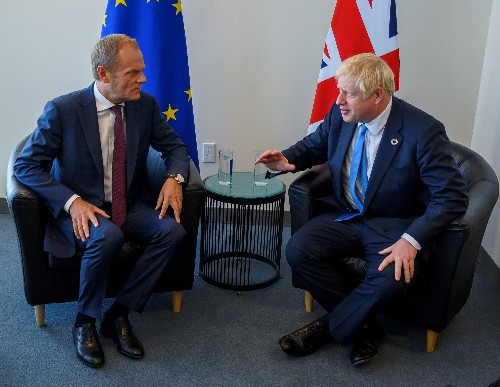 UK PM Johnson: don't expect Brexit breakthrough in New York