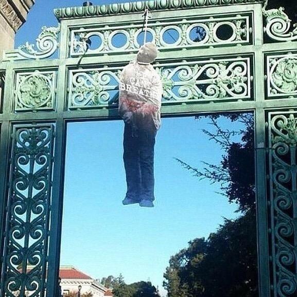 Effigies Of Blacks Found Hanging By Nooses At UC Berkeley