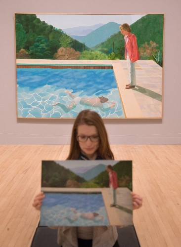 Extensive Hockney Retrospective Opens at Tate Britain: Pictures