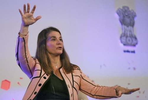 Q&A: Melinda Gates explains why charity cannot wait
