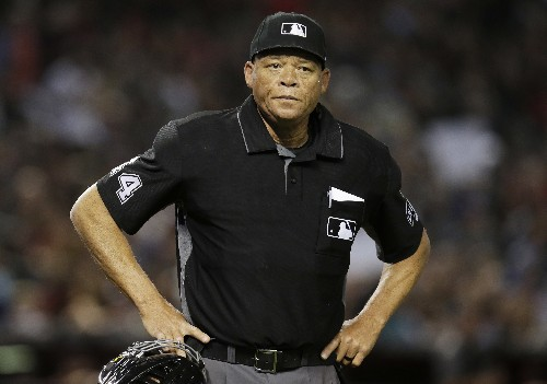 AP Exclusive: MLB appoints 1st black umpire crew chief