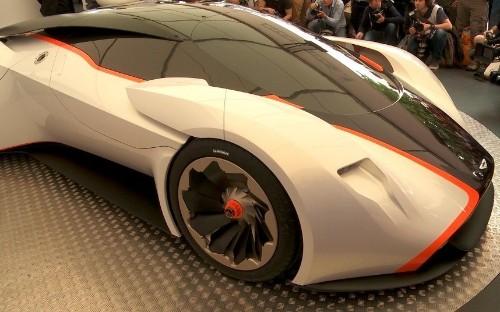 Guided tour of Gran Turismo Aston Martin DP-100 with designer Marek Reichman
