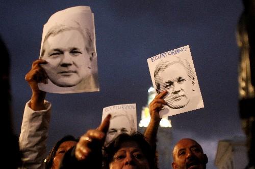 U.N. rights experts cite concern at 'disproportionate' Assange detention