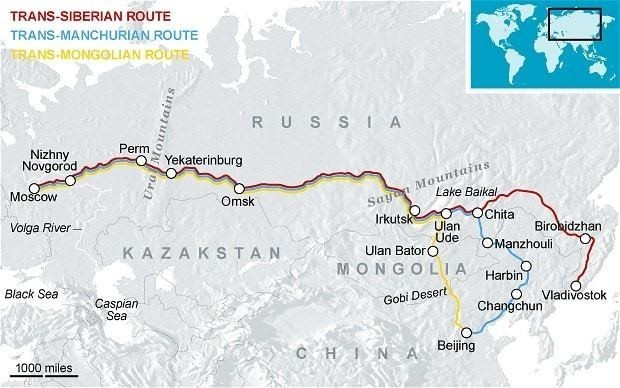 Everything you need to know about booking a trip on the Trans-Siberian railway