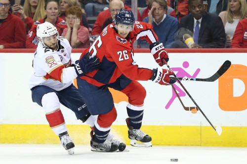 Huberdeau, Panthers top Capitals in shootout