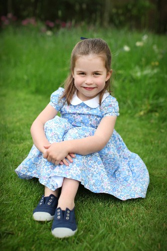UK's Princess Charlotte, four, to join brother George at south London school
