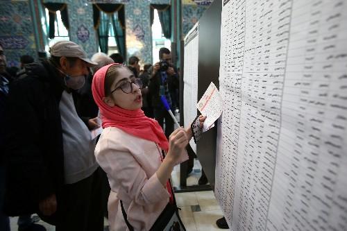 Hardliner bei Wahl im Iran gesetzt