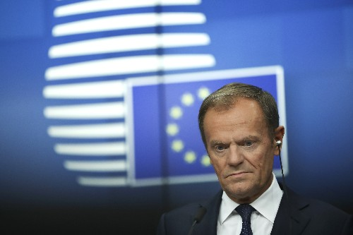 The Latest: Tusk: EU can't offer any more Brexit help to May