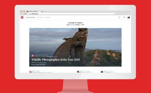 Bem-vindo à tela grande: Selecione o Flipboard como sua homepage