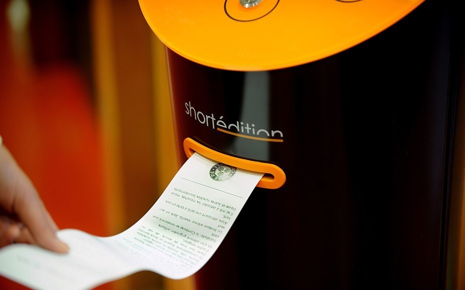 This French City Has Vending Machines That Dispense Short Stories