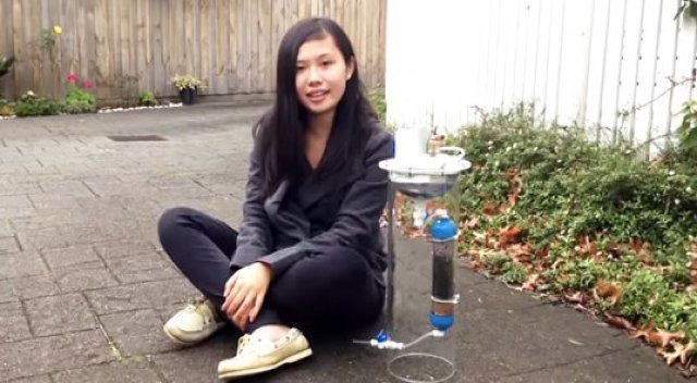 A 17-Year-Old Invented This Smart Device That Makes Clean Water And Power At The Same Time