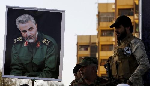Revolutionary Guards commander flexes political muscle