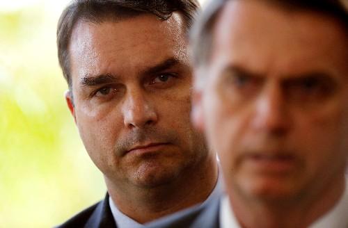 Brazil probe finds suspect deposits in Bolsonaro son's account: report
