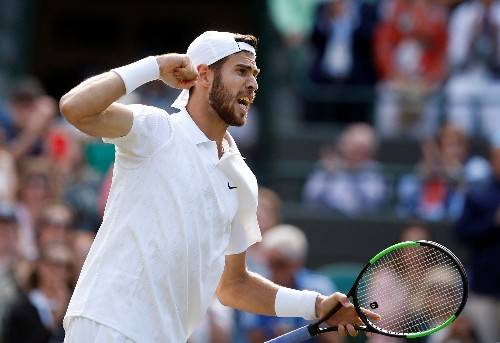 Tennis: Khachanov and Medvedev continue Russian advance at Wimbledon
