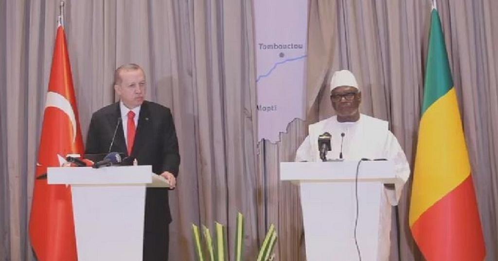 Turkish President Erdogan condemns attack on Burkina Faso