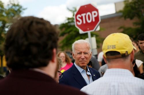 Joe Biden touts electability amid verbal stumbles in important New Hampshire