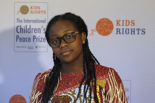 Thunberg, Cameroon peace activist receive children's award